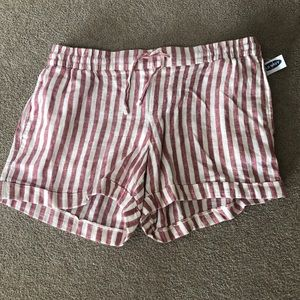 Old Navy Striped Shorts. NWT